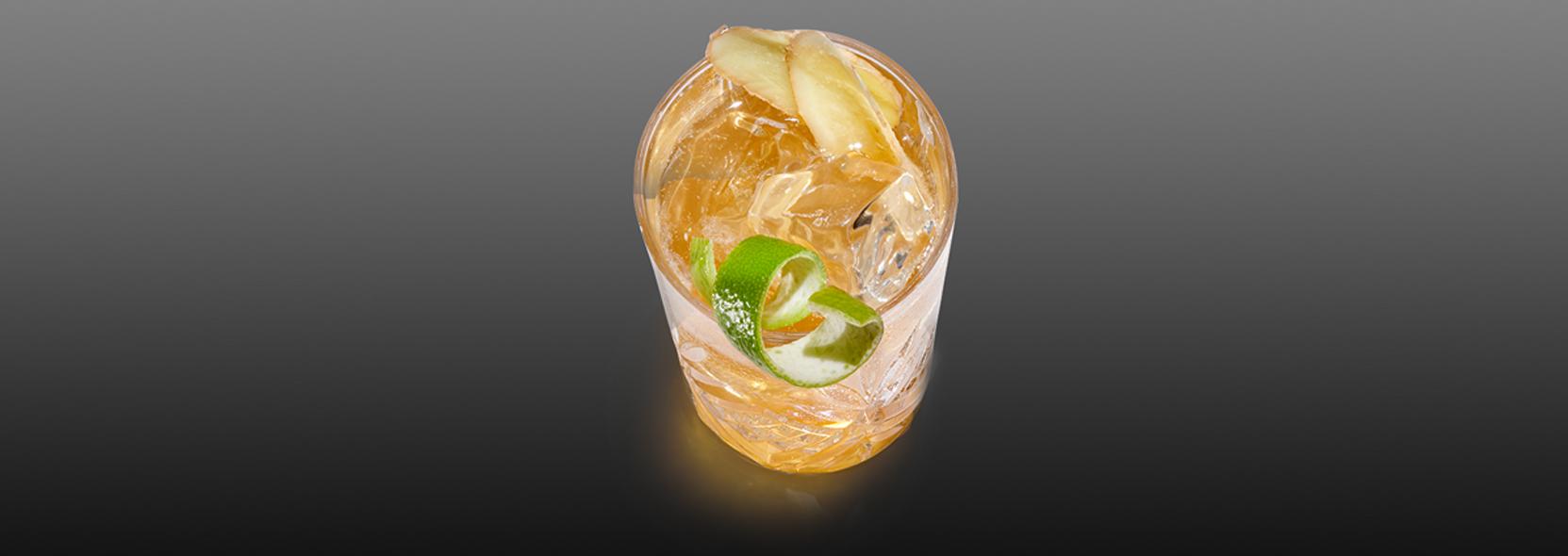Hennessy Ginger Ale & Lime